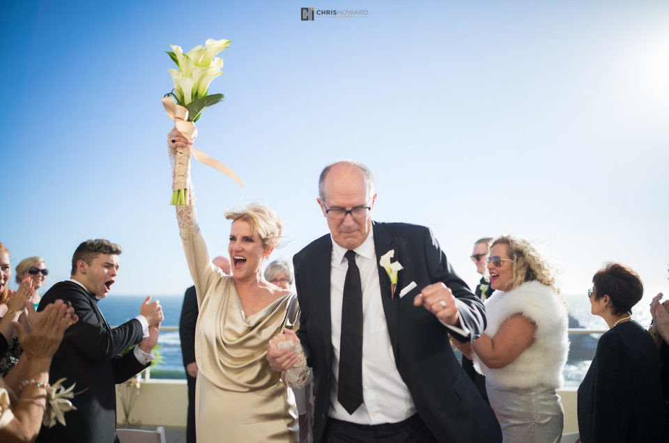 Carrie and Bill ~ Cliff House, San Francisco Wedding